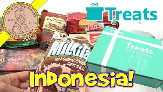 Try Treats Indonesia Candy & Food Monthly Subscription Snack Box