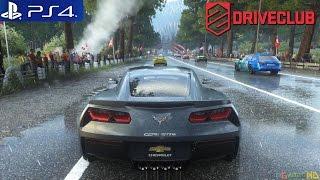 Driveclub - PS4 Race Japan Lake Shoji 2 / Chevrolet Corvette Stingray / Dynamic Weather