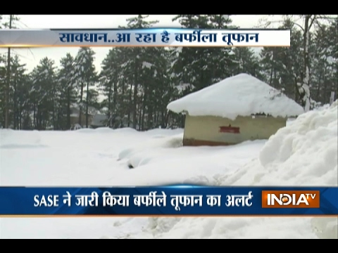 Kashmir,HP to receive heavy snowfall in next 12 hours