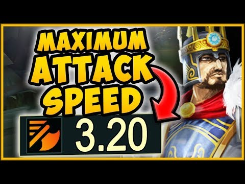 MAX ATTACK SPEED ON-HIT TRYNDAMERE CHALLENGE IS 100% NUTTY TRYNDAMERE SEASON 9 - League of Legends