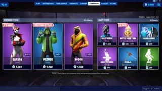 Takara & Doggo Skins Back ! Fortnite Item Shop July 29, 2019