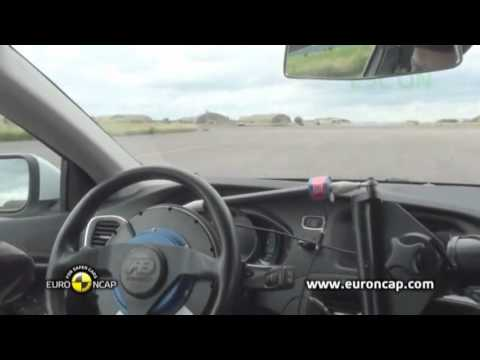 Euro NCAP - Volvo V40 2012 Electronic Stability Control test