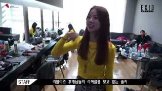 Solji dancing Candy Jelly Love by Lovelyz / EXID funny moment #3