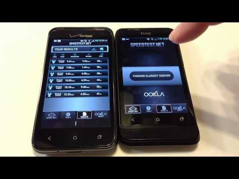 HTC Droid Incredible 4G LTE vs. HTC One V