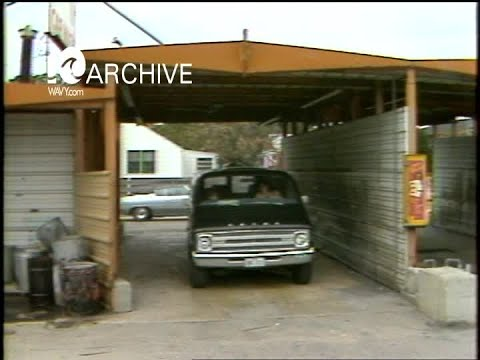 WAVY Archive: 1981 Car Wash Business with Water Shortage