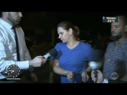 Esposa é suspeita de ter encomendado morte de bombeiro em SP   SBT Brasil (08/12/17)