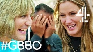 Paul Hollywood SCARED OF Caroline Flack's Biscuit & Sandi Destroys Cake?! | Celebrity Bake Off SU2C