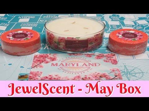 JewelScent Jewels Across America Subscription Box - May 2018!