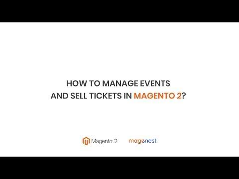 Magenest - [Tutorial Video] Event Ticket Integration For Magento 2