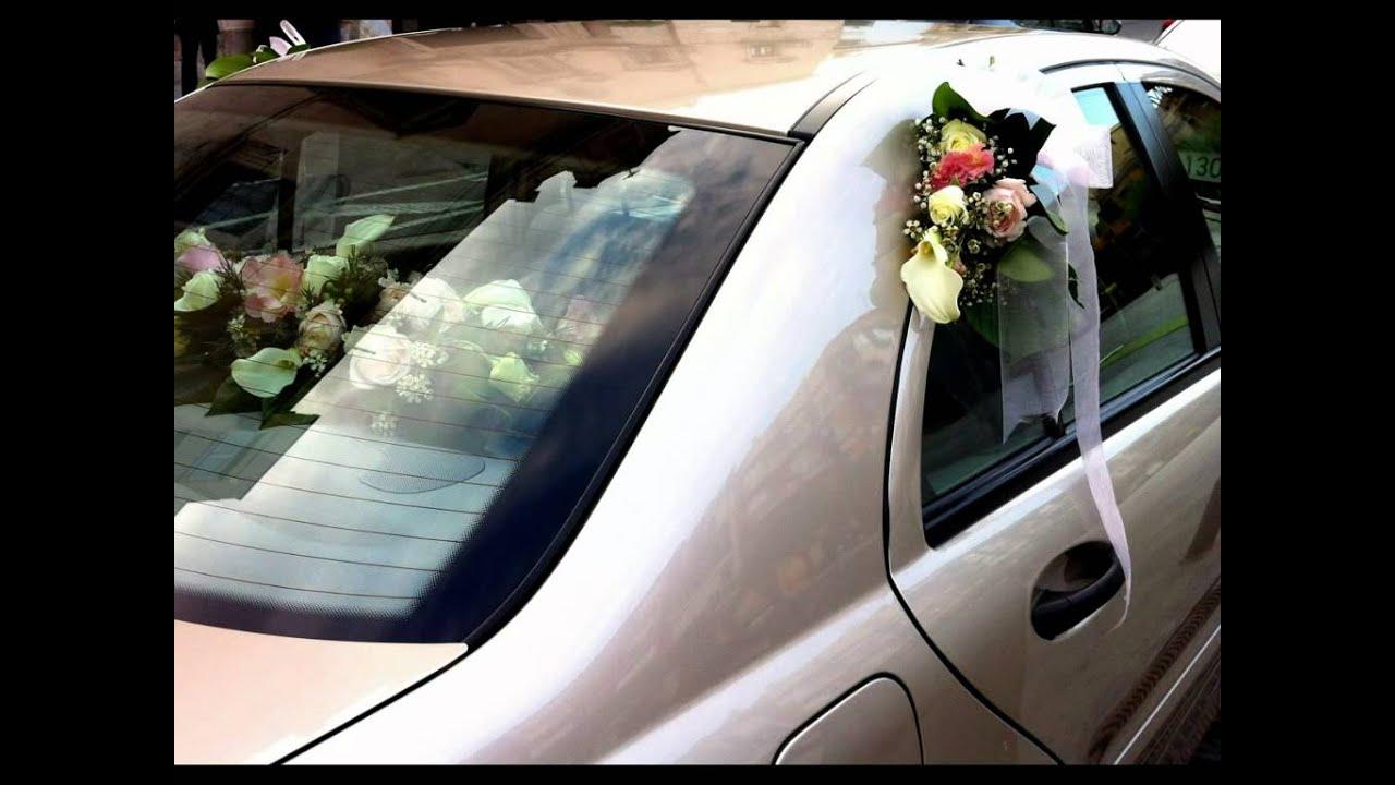 Arreglos florales para boda ramo de novia coche iglesia novio restaurante y sal n de boda - Decoracion coche novia ...
