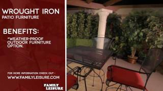 WROUGHT IRON Patio Furniture Buyers Guide Video