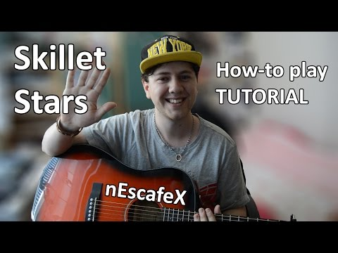''Skillet - Stars'' How-to play TUTORIAL - Acoustic Guitar Tutorial - (nEscafeX)
