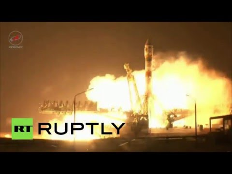 Finally off! Soyuz rocket with observation satellite launched from Baikonur