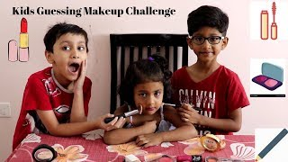 Kids Guessing Makeup Challenge | Indian Kids Makeup challenge | Makeup Challenge 2019