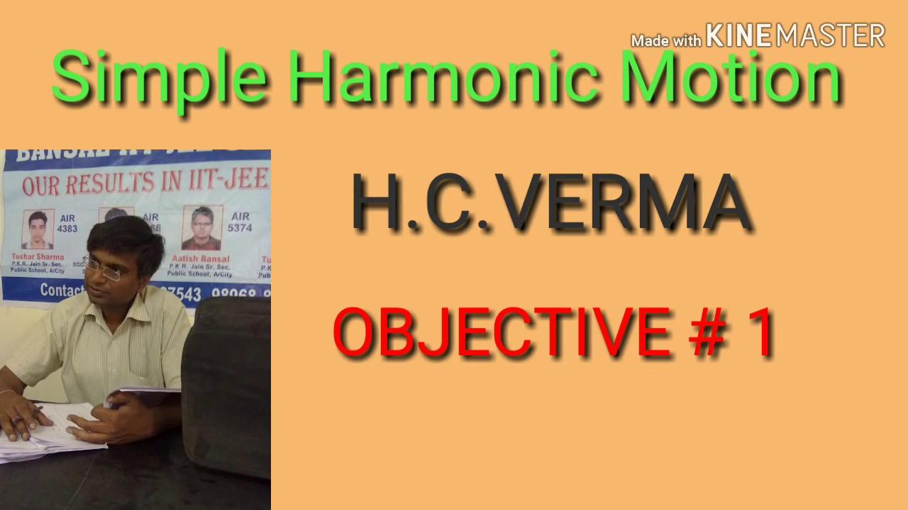 Pdf objective solutions hc verma