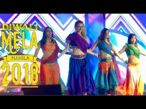 Diwali Mela Indian Festival of Lights SM Mall of Asia Manila Philippines 2018