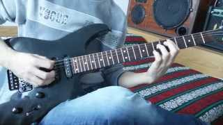 divide pop evil guitar cover