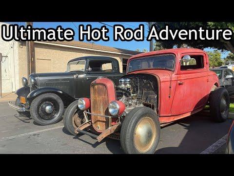 Iron Trap 2020 Winter California Hot Rod Adventure - Ep. 1
