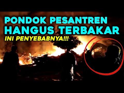 Ponpes Al-Mahsyar Nurul Iman Tenggarong Seberang Hangus Terbakar!
