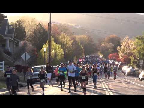 Salt Lake City Marathon 2015, 11th Ave & City Creek