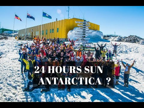 🐧 24 H Sun in Antarctica?🏢Australia's Research Stations on Antarctica -Live Camera