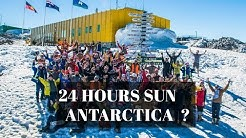 🐧 24 H Sun in Antarctica?🏢Live CAM-Research Stations on Antarctica