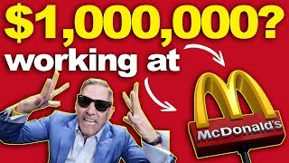 $1,000,000 Working at Mcdonald's? - Grant Cardone