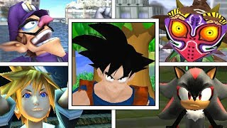 Here is a huge collection of Super Smash Bros Mods showcasing crazy...