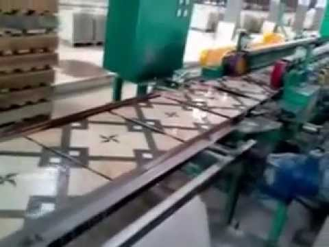 Digital Glazed Vitrified Tiles production process (Part 3) - YouTube