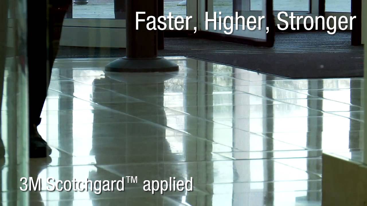 3m Scotchgard Stone Floor Protector Youtube