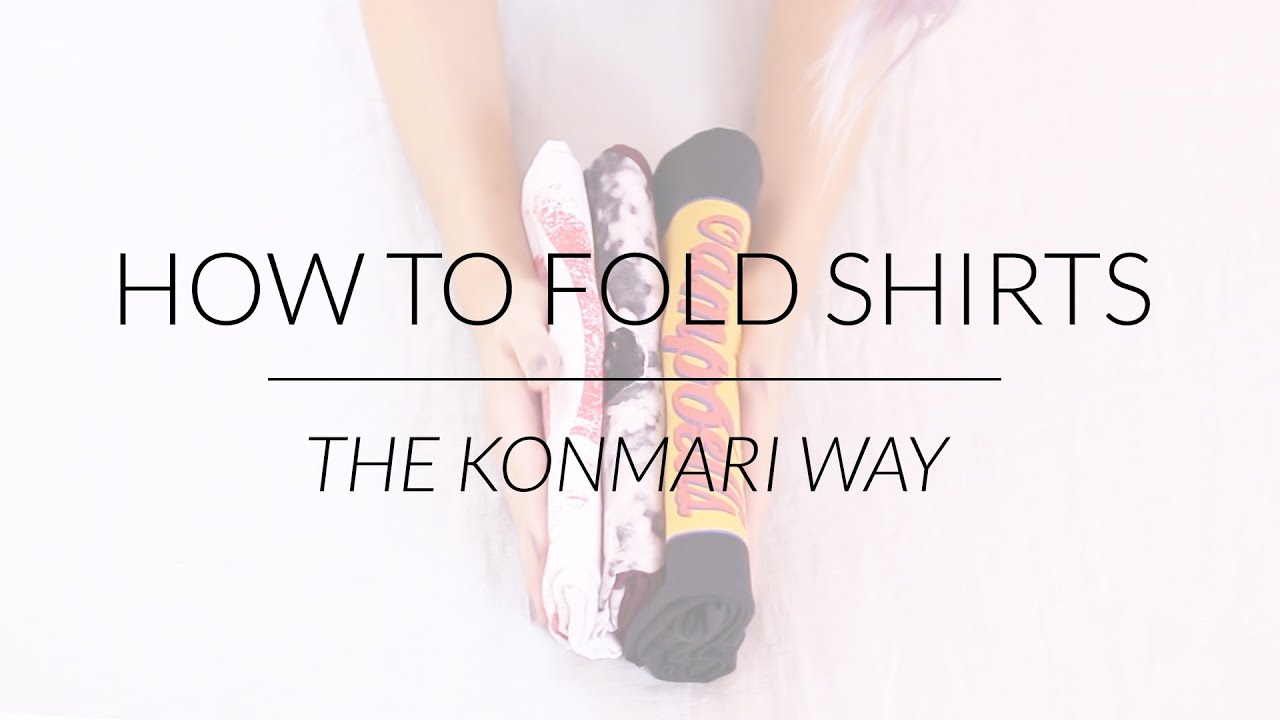 Marie kondo folding insured by laura for Japanese way to fold shirts