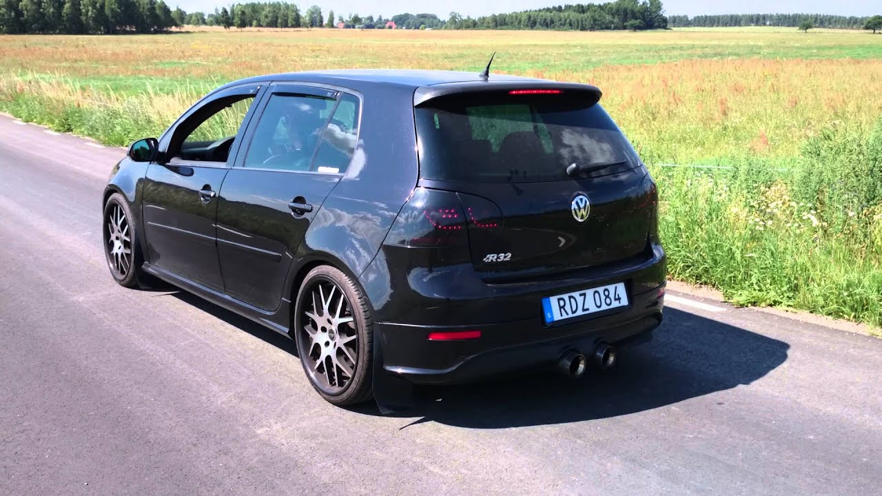 launch control vw golf v r32 2008 great sound youtube. Black Bedroom Furniture Sets. Home Design Ideas