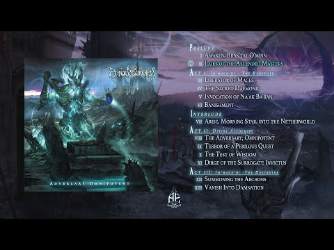 ENFOLD DARKNESS - Adversary Omnipotent [OFFICIAL FULL ALBUM STREAM]