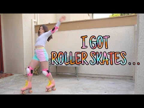 I Got Roller Skates And THIS HAPPENED...