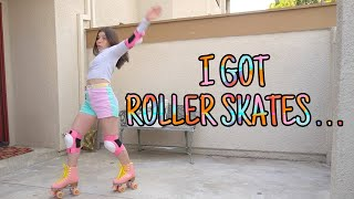 I Got Roller Skates And THIS HAPPENED...