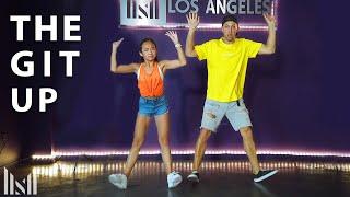 """THE GIT UP"" - Dance Challenge   Matt Steffanina ft Nicole Laeno"