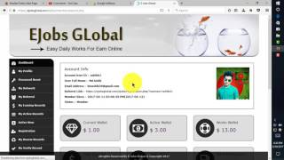 EjobsGlobal.com New Update System.Payment bKash and Bitcoin.