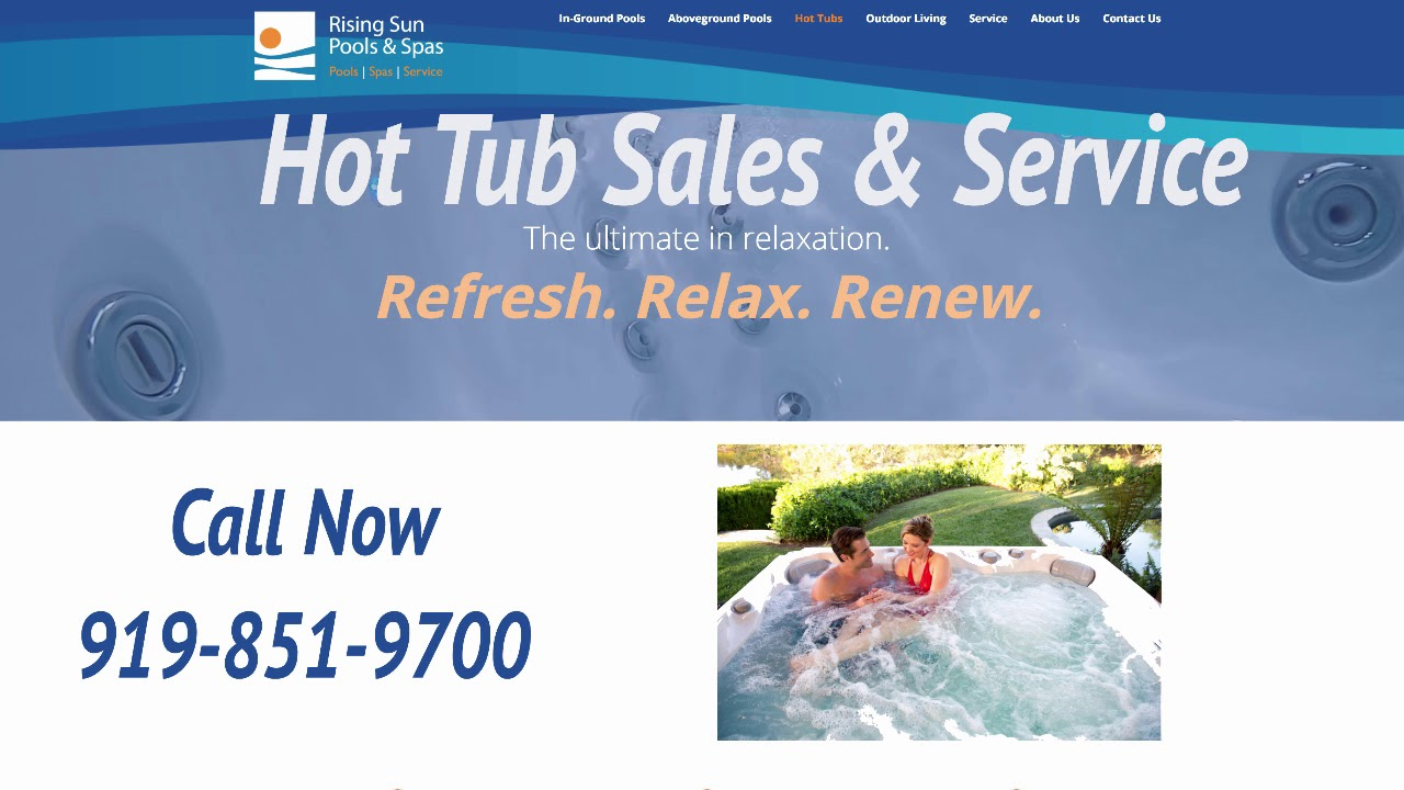 Hillsborough Hot Tub S And Service Call Rising Sun Pools 919 851 9700