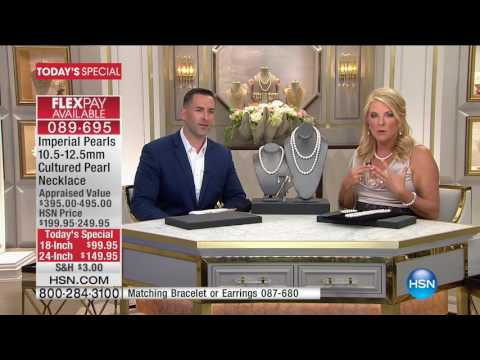HSN | Imperial Pearls by Josh Bazar 06.01.2017 - 12 AM