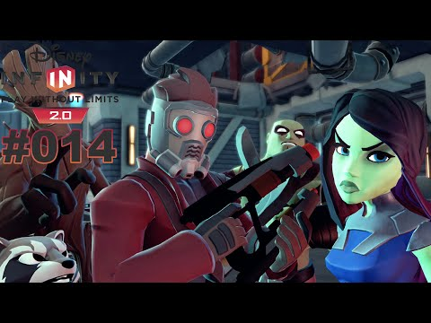 DISNEY INFINITY 2.0 MARVEL SUPER HEROES #014 Star Lord ★ Let's Play Guardians of the Galaxy Deutsch
