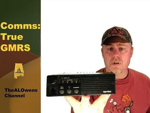 Comms: True GMRS Radio