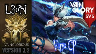 5v5 L3oN   Varya CP - Vainglory hero gameplay from pro player