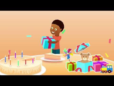 Comptine Pour Bebe Avec Le Prenom Gilles Joyeux Anniversaire Youtube