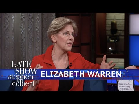 Senator Elizabeth Warren Explains Who Benefits From The Tax Bill