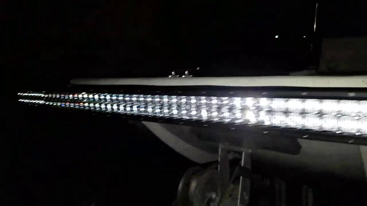 Led Light Bar Flounder Rig Youtube