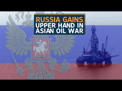 Russia becomes the world's largest crude producer