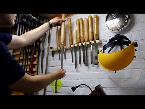 DIY woodturning chisel with carbide cutter