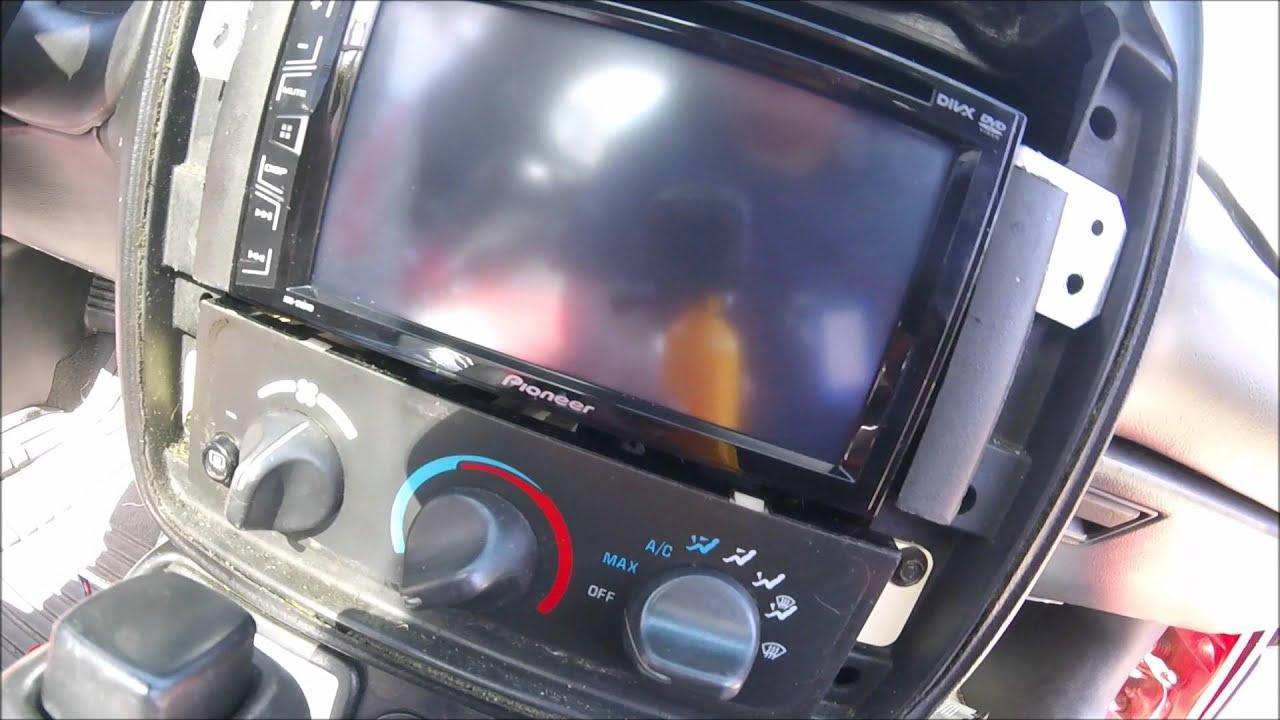 Como Instalar Un Est 233 Reo Con Dvd Youtube