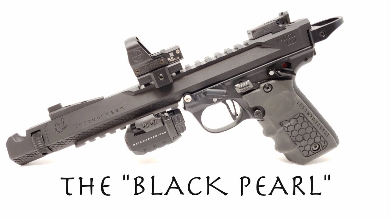 Ruger Mark 4 The Black Pearl Youtube