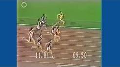 Linda Haglund 11,16 (NR) på 100 m på OS 1980 i Moskva